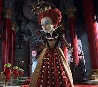2 februari 2012: Hartenvrouw. Foto: Helena Bonham Carter als Hartenvrouw in Alice in Wonderland (2010)