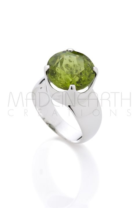 Peridot is the most magnificent green!