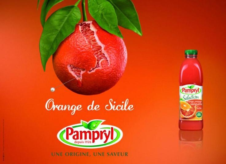 Pampryl - Une origine, une saveur - Orange de Sicile