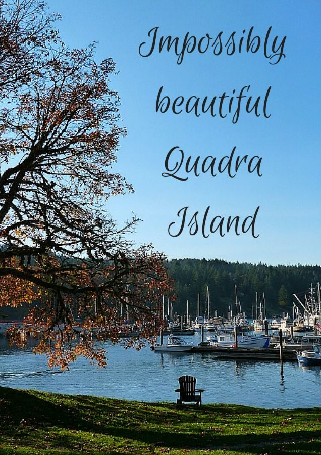 Impossibly beautiful Quadra Island via The World on my Necklace