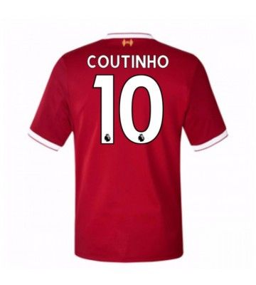 Billiga Fotbollströjor Liverpool Mario Philippe Coutinho 10 Hemmatröja 17-18