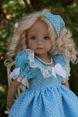 "Effner 13"" Little Darling Sweet Vintage Ensemble by Ladybugs Doll Designs OOK | eBay"