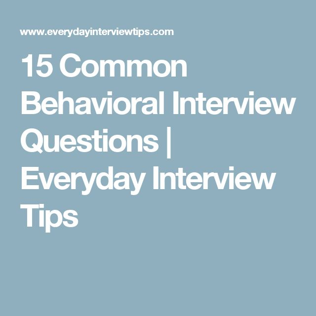 Best 20+ Behavioral interview ideas on Pinterest