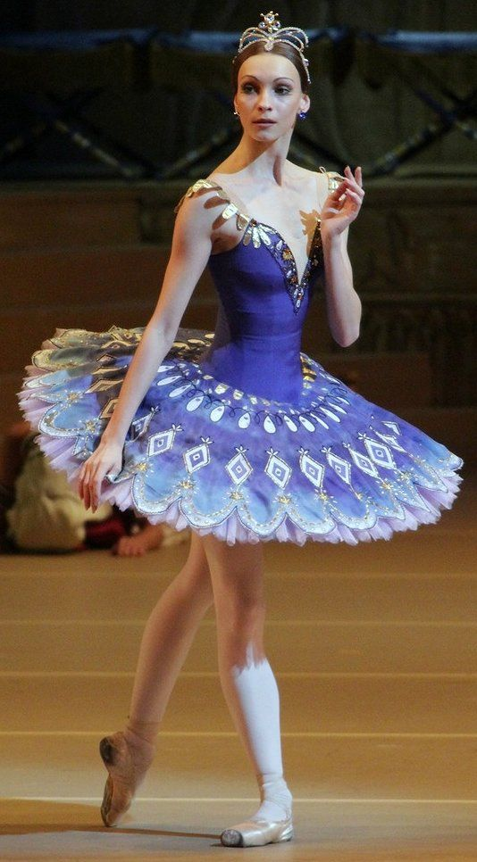 blue tutu www.theworlddances.com/ #costumes #tutu #dance