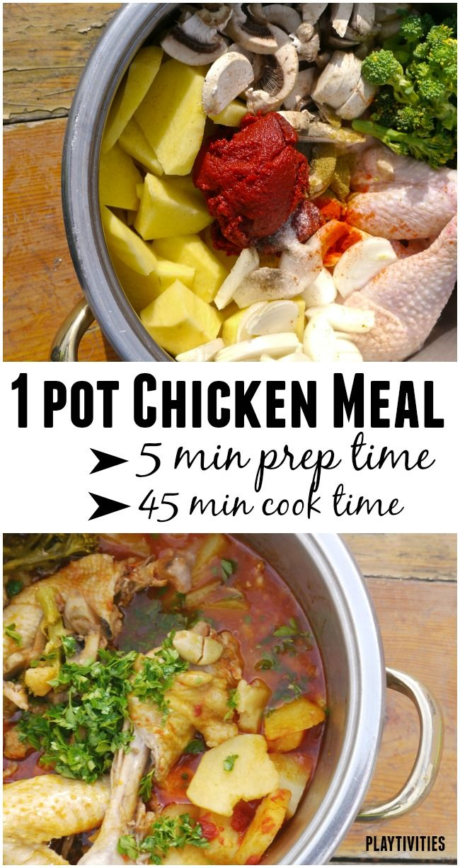 Probably One Of The Best Quick Chicken Recipes (cooked in 1 pot)