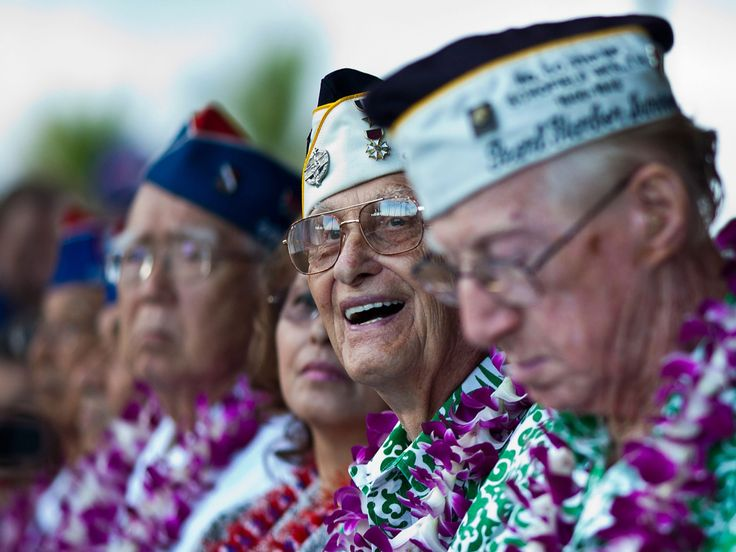 Seventy-five years after Japan bombed Pearl Harbor and pushed the U.S. to enter World War II, some American veterans of the battle are in Hawaii to commemorate the anniversary Wednesday. Their numb…