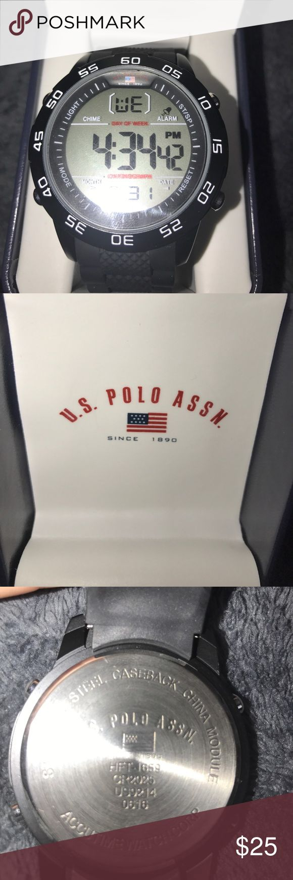 ➖ MENS U.S POLO WATCH ➖ BRAND NEW - Bought it for my boyfriend but didn't fit his wrist. U.S. Polo Assn. Accessories Watches