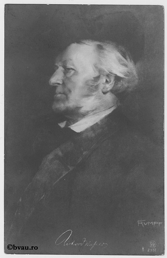 "Richard Wagner. Imagine din colecțiile Bibliotecii ""V.A. Urechia"" Galați."
