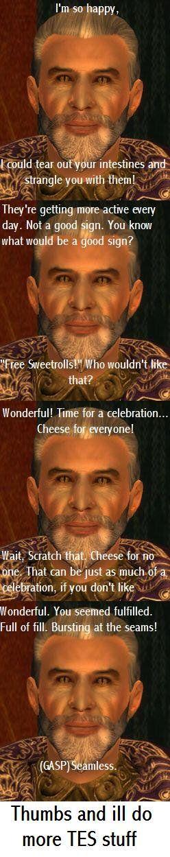 i LOVE Sheogorath sooooo much x3 he has to be one of my fav chars from oblivion c: