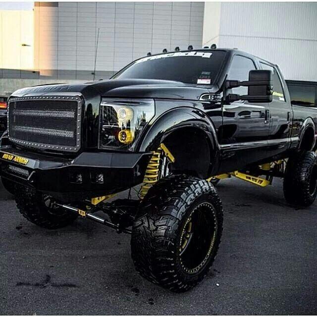 Big ford pickup trucks