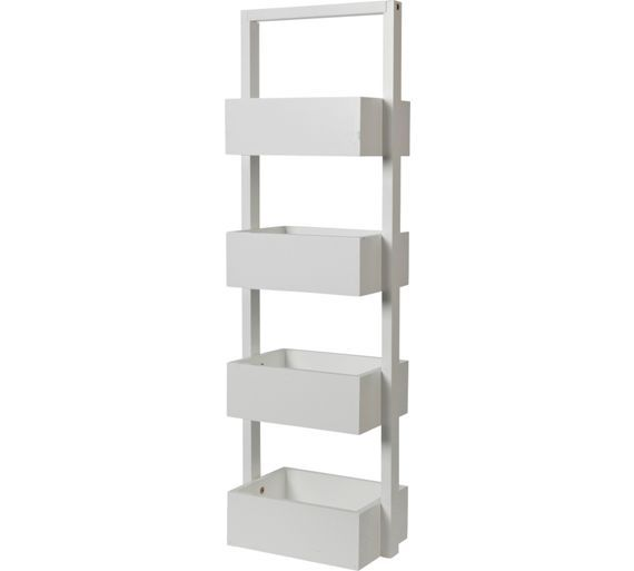 Buy Collection Freestanding Bathroom Storage Caddy - White at Argos.co.uk, visit - 17+ Ideas About Freestanding Bathroom Storage On Pinterest