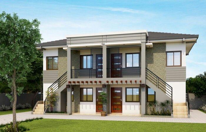 4 plex apartment h h tiny houses pinterest apartments apartment ideas and house - Small home desi design ...