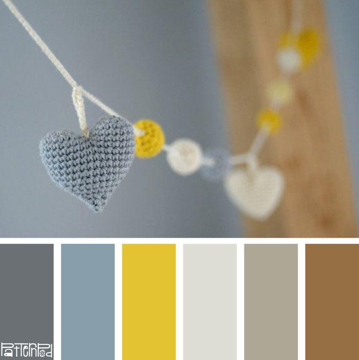 Grey Garland#patternpod #color