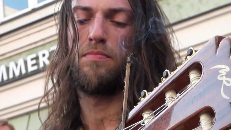 Two things: Estas Tonne: Looks a lot like Thorin Oakenshield!  The Song of the Golden Dragon: It's Smaug!  Aaah!!! The connections are blowing my mind! And so is his music!