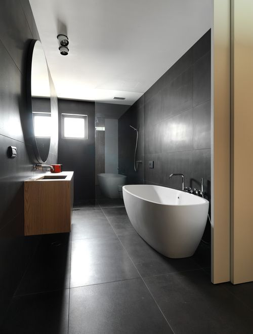 Large format tiles create seamless surfaces minimising grout lines. With fewer grout lines gives the sense of open and larger spaces. There are so many options other than 600 x 600 or 300 x 600, give your space the look of luxury with large format tiles...
