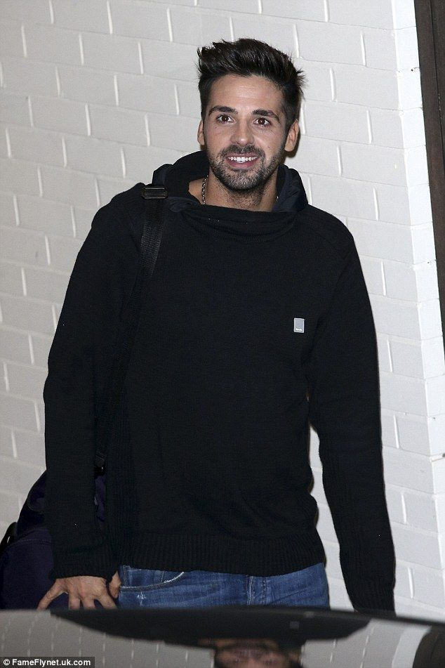 Winning smile! Ben Haenow was clearly on a high after making it to the next round, stepping out with a big smile on his face