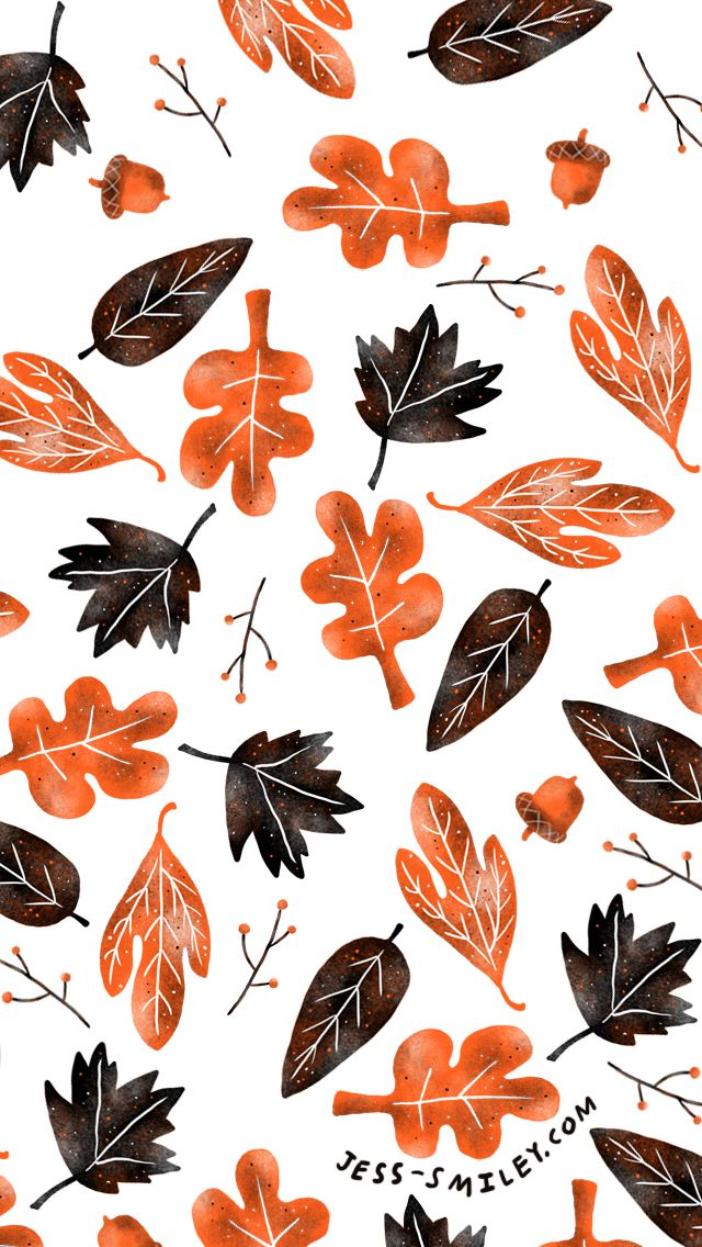 Fall wallpaper download for your iPhone (by Jess Smart Smiley)