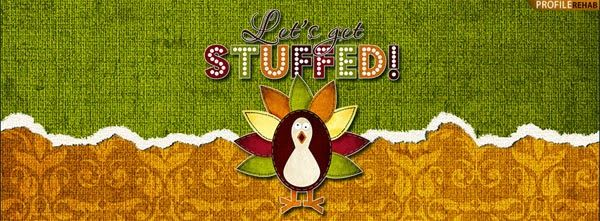 Jazz up your Facebook cover page for Thanksgiving with this cute free design!