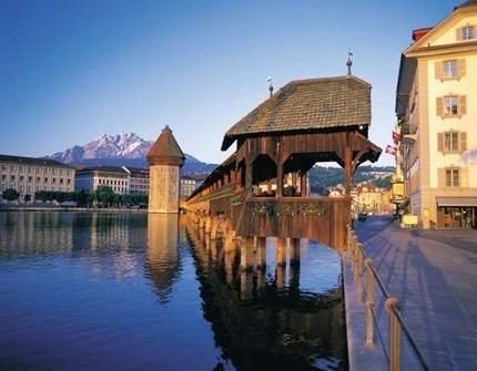 My favorite city in Switzerland - Lucern!: Favorite Places, Switzerland, Travel, Ive, Bridges