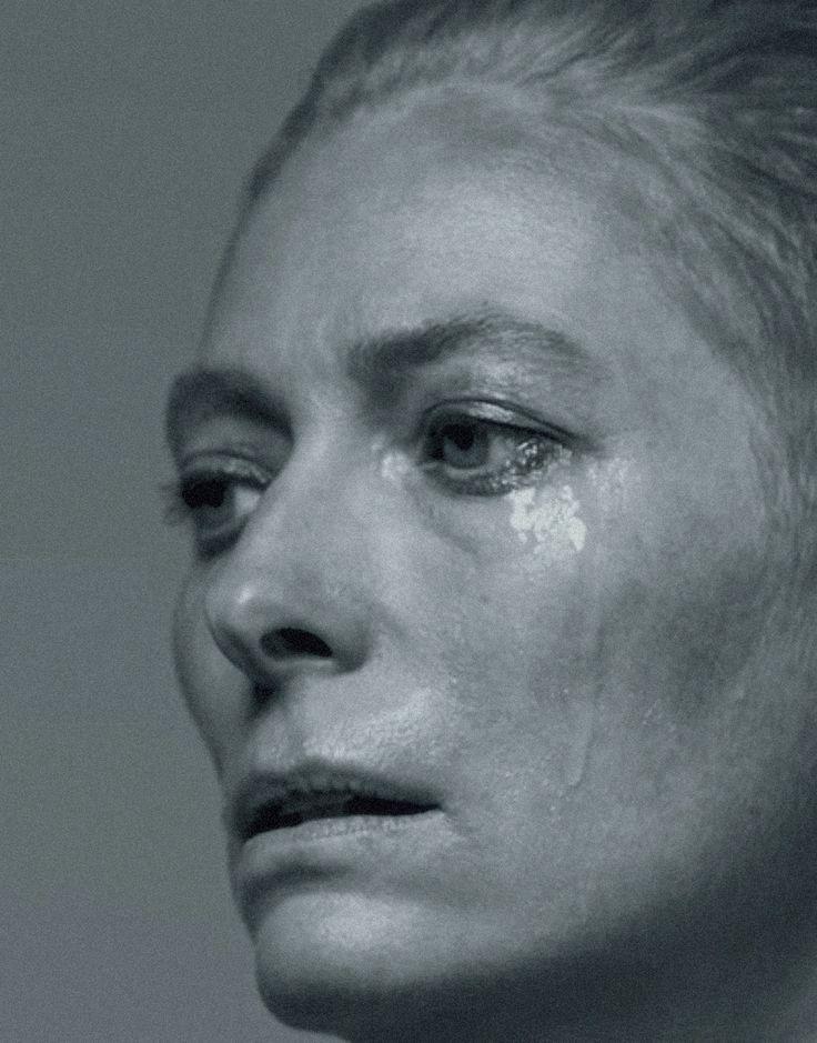"pradaphne:  Tilda Swinton in ""Fourteen Actors Playing"", photographed bySølve Sundsbø for The New York Times."