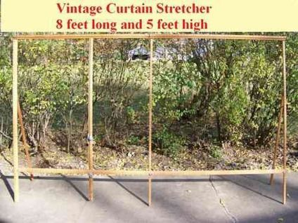 Captivating Lace Curtain Stretcher | Curtain Stretcher For Sale In Eureka Illinois  Classified Curtain .