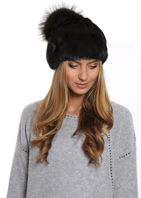 e9ddfba9ff6 Jessimara Mink Brown Long Beanie Hat - Jessimara