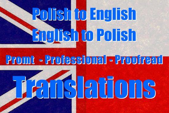 translate Polish to English and English to Polish by izaalv