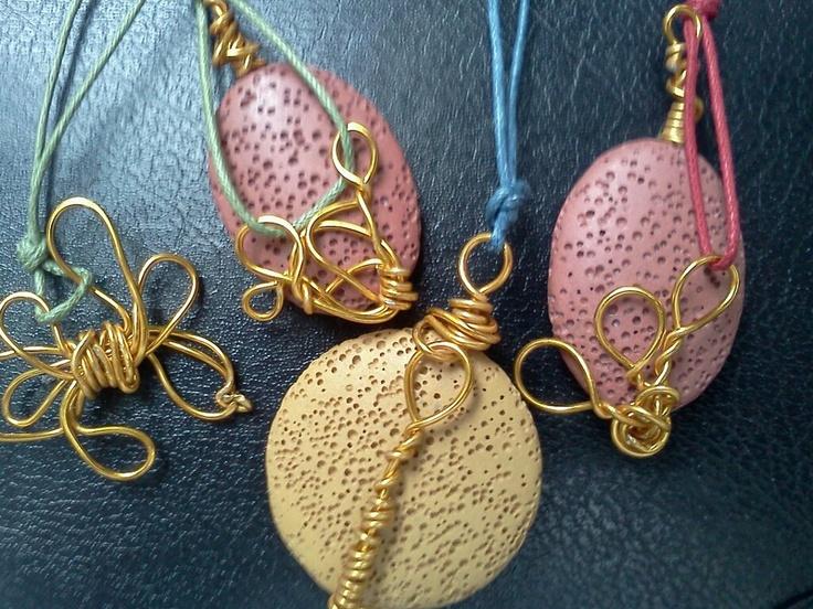 athina handmade jewel-  necklaces with semi precious stones