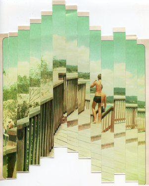 "Saatchi Online Artist Robin Clason; Assemblage / Collage, ""South"" #art"