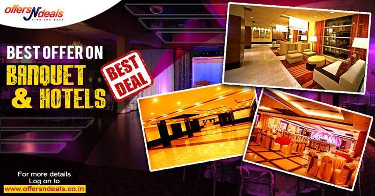 Best banquet & hotel deals.