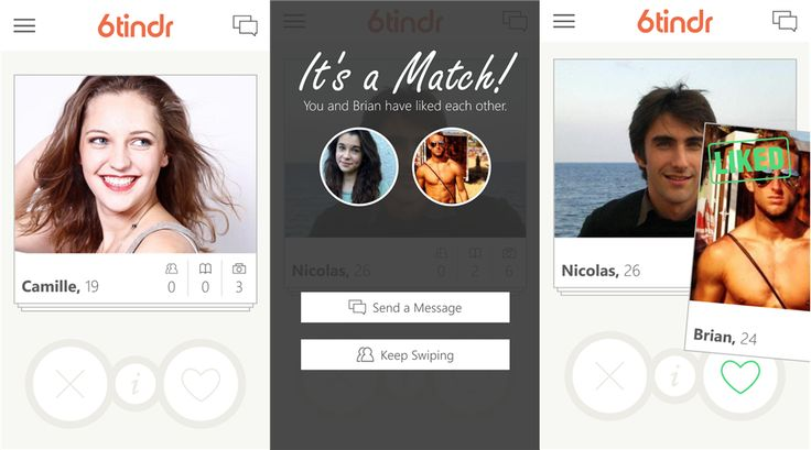 6tindr - Tinder dating application is now available for Windows Phone 8 devices   Well-known Windows Phone developer Rudy Hyun 6tindr Tinder...