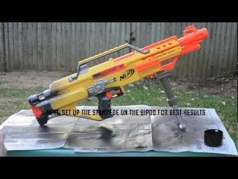net nerf sniper painted nerf blasters nerf guns forward nerf sniper 1. Black Bedroom Furniture Sets. Home Design Ideas