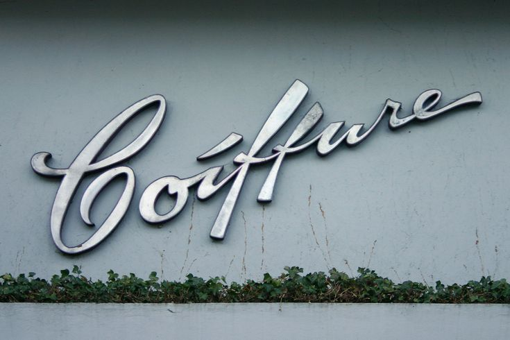 Coiffure signage, photo by Florian Hardwig via Flickr.