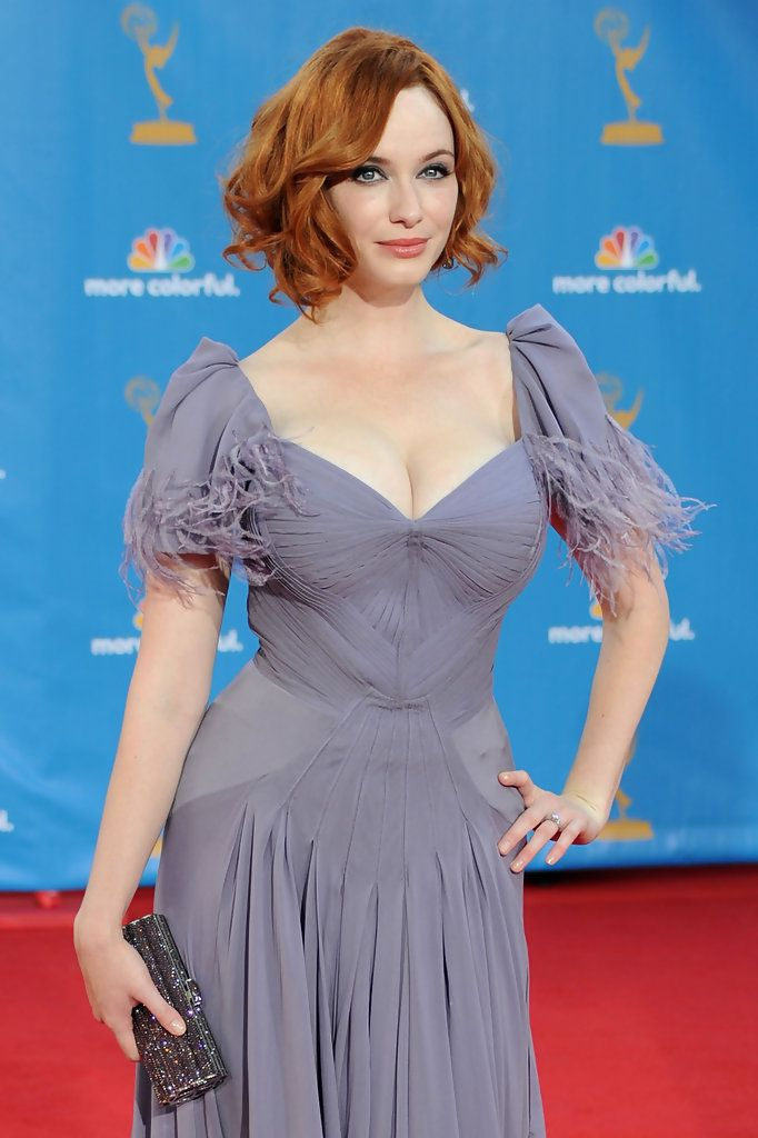 Scrumptious and Sexy Christina Hendricks