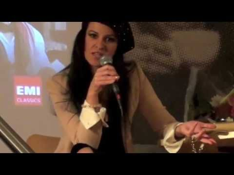 Angela Gheorghiu in Tosca    Le domande del pubblico in sala