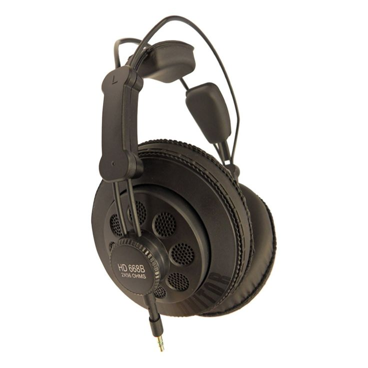 Looking for the best studio headphone under $40? The Superlux HD668B headphones, are not only reminiscent of a AKG k240 in their design and style but also in their stunning quality and value. While the AKG comes in at $99.99 MSRP, the Superlux HD668B comes in at only $37.99 making it truly the best studio headphone under $40
