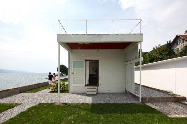 Villa le lac designed for le corbusier 39 s parents for 5 points corbusier