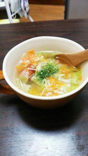 鶏ガラで。具だくさん野菜スープ by ショコーラ [クックパッド] 簡単 ...