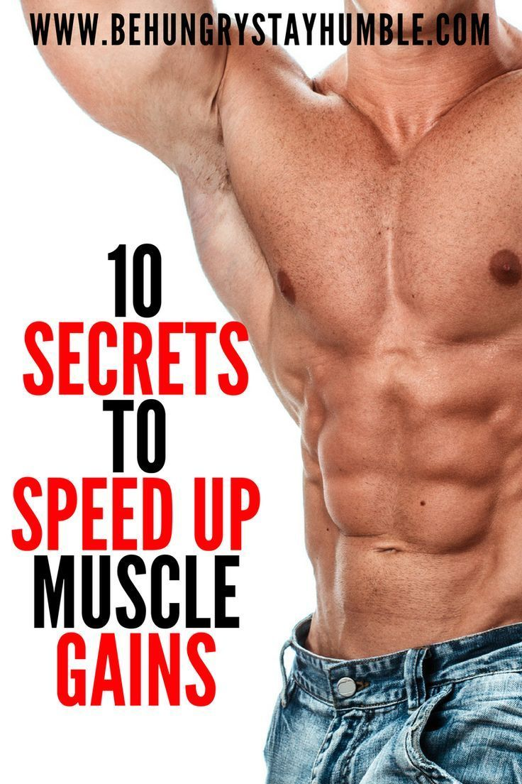 what is a good way to build muscle fast