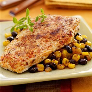 Southwestern Turkey Cutlets: Incredibly easy and packed with flavor.