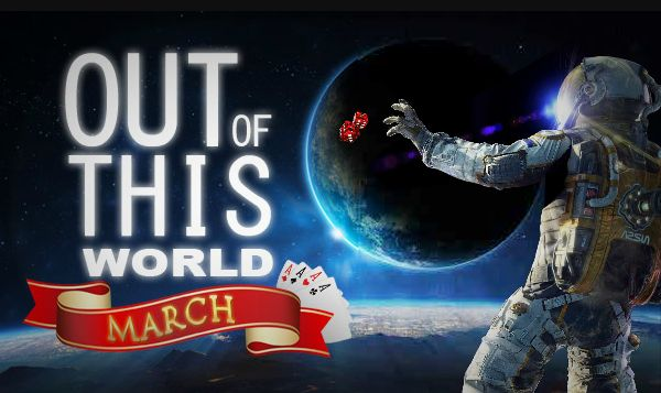 CHECK OUT our March Promo!! We're taking you to infinity and beyond this month - WIN BIG with Lucky247!