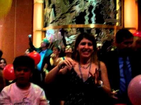 Enjoy the Balloon Dance Party aboard the Caribbean Princess