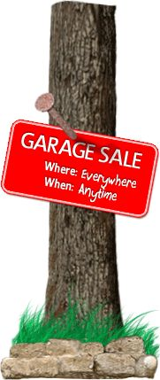 Private Garage Sale: Online sale, FREE for sellers & buyers