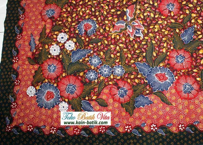 Batik Madura Podhek KBM6560 Kain Batik Murah Kain