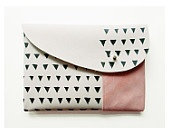 MIXED CLUTCH / ivory pink black   Black Bird and Owl on etsy