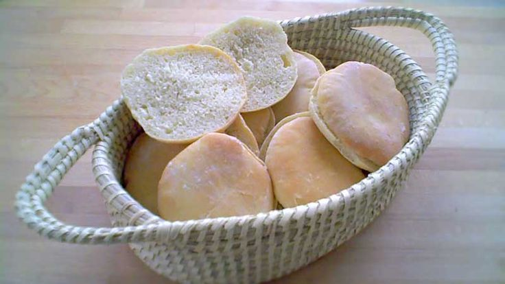 Simple burgerboller og pølsebrød