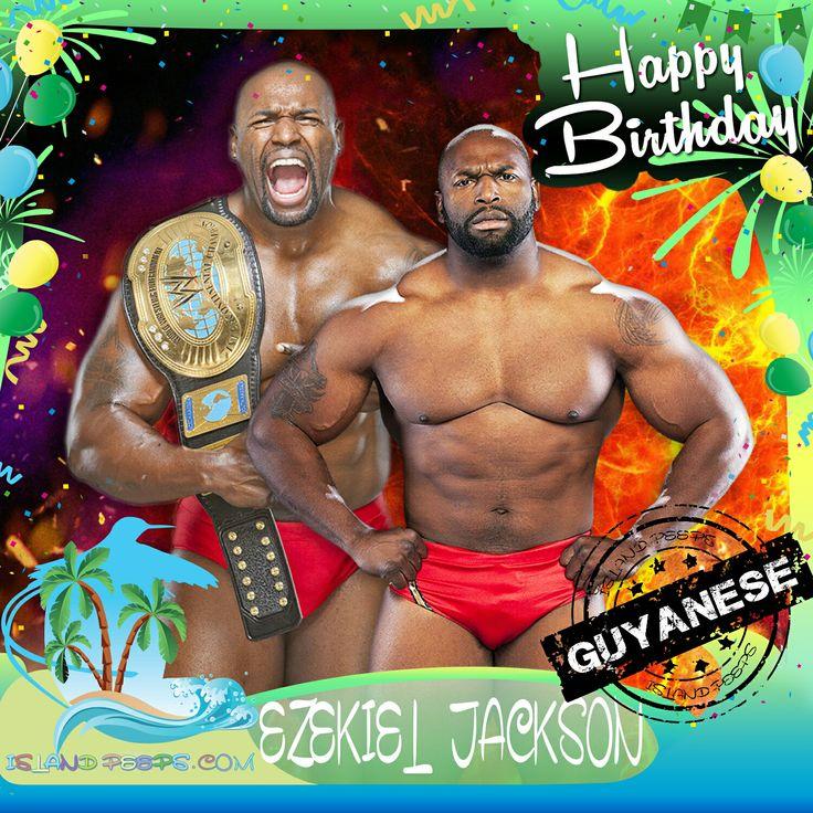Happy Birthday Ezekiel Jackson!!! Guyanese born Pro Wrestler!!! Today we celebrate you!!! @bigzekejackson #EzekielJackson #islandpeeps #islandpeepsbirthdays #WWE #Guyana #ECWChampion