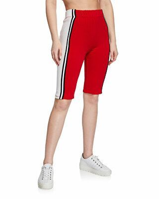 June biker shorts with stripe   – Biker shorts