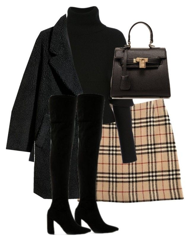 """Untitled #4949"" by theeuropeancloset on Polyvore featuring Burberry, Creatures of the Wind, H&M and Public Desire"