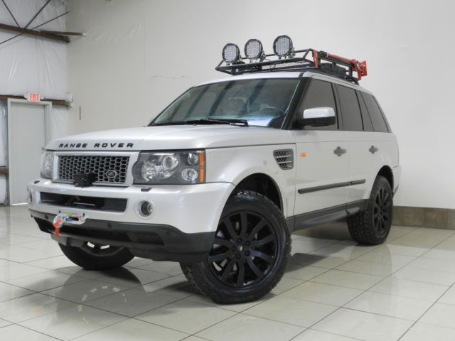 SALSH23406A913090 - ONE OF A KIND LAND ROVER RANGE ROVER SPORT SUPERCHARGED AWD LIFTED WINCH NAVI
